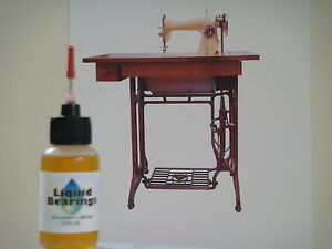 Liquid Bearings, BEST 100%-synthetic oil for Brother or any sewing machine!!