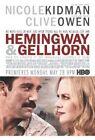 Hemingway & Gellhorn (DVD, 2013)