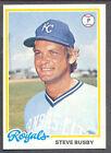 1978 Topps Steve Busby #336 Baseball Card