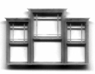 GABLE & DORMER WINDOW HO Model Railroad Structure Plastic Detail Part GL5223