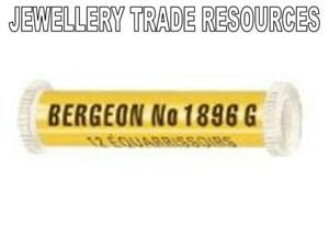 12 BERGEON 1896G WATCH BROACHES 0.05mm - 0.30mm