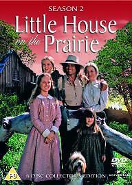 Little House On The Prairie -Season/Series 2 Box Set. 6 Discs. NEW/SEALED.UK Dvd
