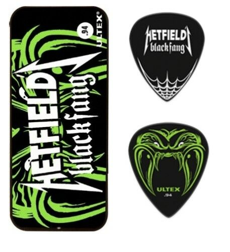 Dunlop Hetfield Black Fang Sammlerbox mit 6 Plektren