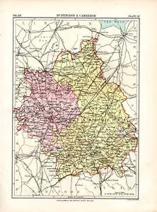1883-ENCYCLOPEDIA-BRITANNICA-MAP-HUNTINGDON-amp-CAMBRIDGE
