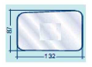 AUTOBIANCHI-A112-VETRO-SPECCHIO-RETROVISORE-SINISTRO
