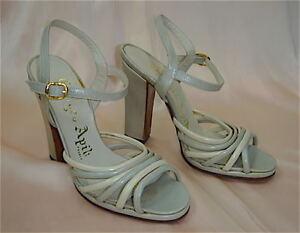 image is loading vintage 1970 sandale bi colore france neuve new - Sandale Colore