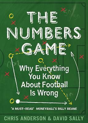 """""""AS NEW"""" Sally, David, Anderson, Chris, The Numbers Game: Why Everything You Kno"""