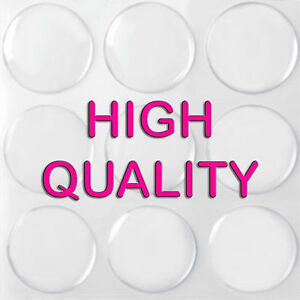 100-QTY-1-Inch-CLEAR-EPOXY-STICKER-CIRCLE-DOME-Bottle-Cap-Round-Adhesive-Dots