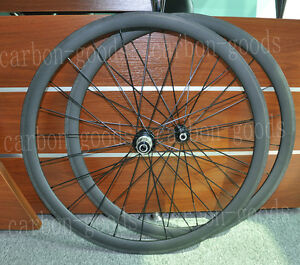 Full-Carbon-700C-3k-matt-38mm-Road-Bike-Tubular-Wheels-Wheelset