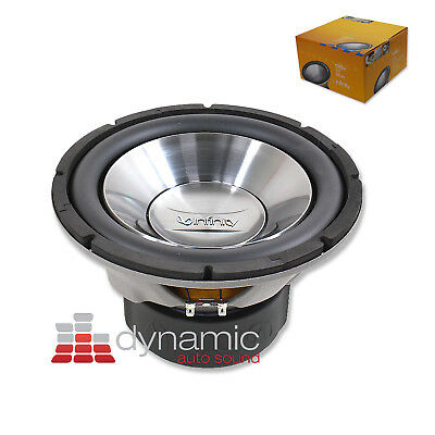 "Infinity REFERENCE 1260W Car Audio Subwoofer 12"" SVC 4-Ohm 1,200W Sub Woofer New"