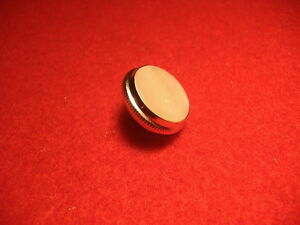 New Silver Getzen Trumpet Finger Button, All Models! 900s, 700s, 590s! OEM Part!