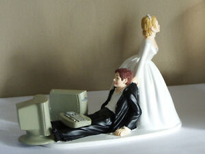 funny bride groom wedding cake toppers uk new humorous computer themed wedding cake topper or 14540