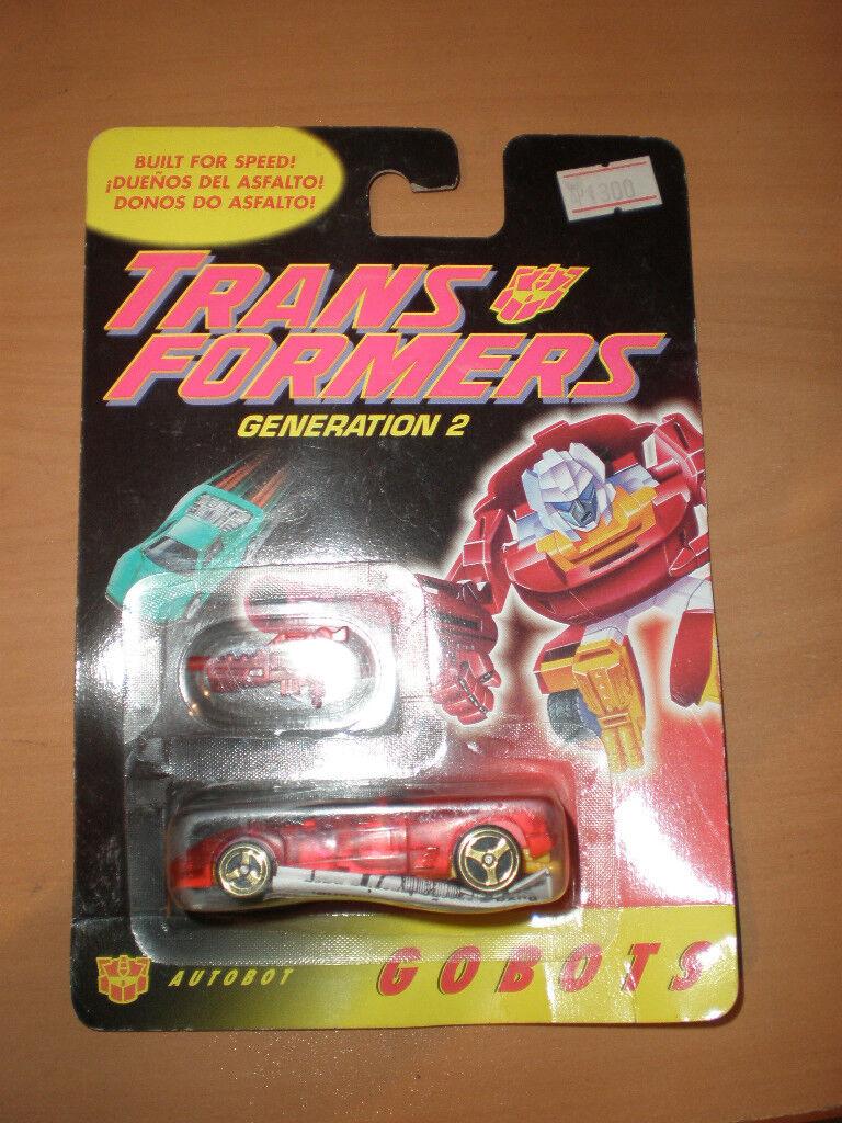 TRANSFORMERS 1994 G2 GOBOTS FIRECRACKER MOC MINT nuovo