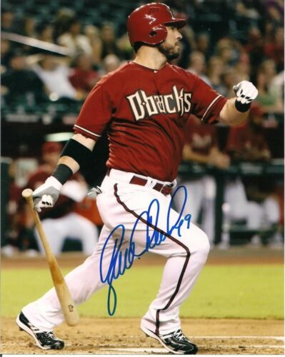 RYAN CHURCH ARIZONA DIAMONDBACKS SIGNED 8X10 PHOTO W/COA