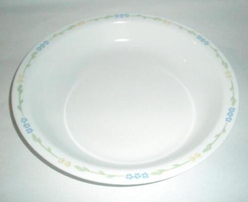 3-pc Corelle SECRET GARDEN PIE PLATE Dish w//6-oz SAUCE DIP CUP Bowl /& COVER New
