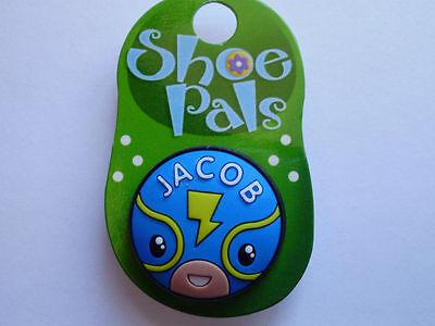 Los chicos calzado Pals J-Z Para Crocs Ojales Zapato Bling
