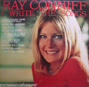 RAY-CONNIFF-I-Write-The-Songs-UK-9-Track-1976-LP