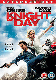 Knight And Day Extended Cut Dvd Tom Cruise Brand New & Factory Sealed