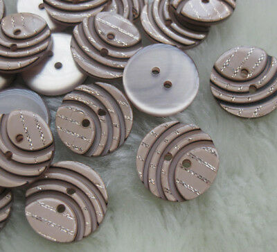 22mm 20pcs Resin Buttons sewing Appliquse ornament kid's DIY Craft 2 hole