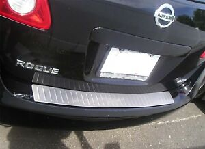 STAINLESS-STEEL-REAR-BUMPER-SURFACE-COVER-FITS-2008-2013-08-13-NISSAN-ROGUE