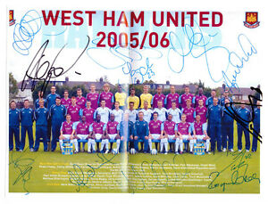 WEST-HAM-UNITED-2005-2006-ORIGINAL-HAND-SIGNED-PHOTOGRAPH-TEAM-GROUP-BY-12