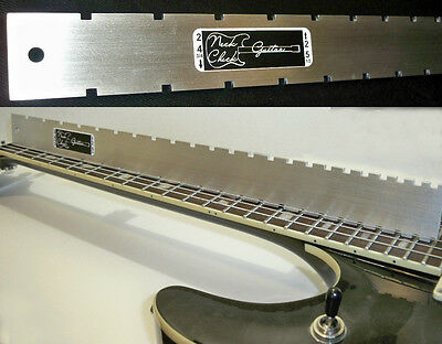 EPIPHONE GUITAR NECK STRAIGHT EDGE (Notched) LUTHIERS TOOL