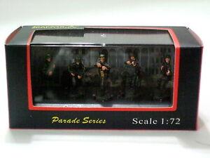 Caesar-Miniatures-1-72-P804-German-Panzergrenadiers-4-Pre-Painted-Figures