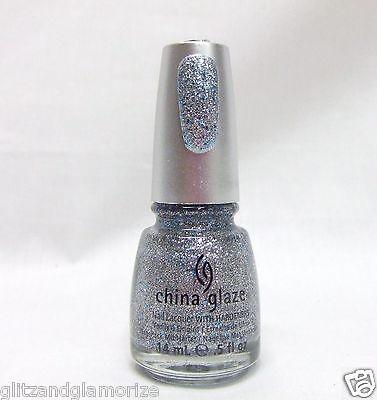China Glaze Polish Eye Candy 3 D Holographic Glitter Lorelei's Tiara 80774 .5oz