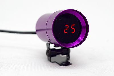 Micro Digital Oil Pressure Gauge in PSI, 37mm Supplied with sensor + kit
