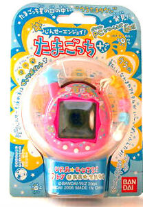 NEW-BANDAI-Tamagotchi-PLUS-GUTS-Pink-Electronic-Virtual-PET-NIB-RARE