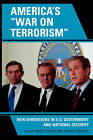 America's 'War on Terrorism': New Dimensions in U.S. Government and National Security by Lexington Books (Paperback, 2008)