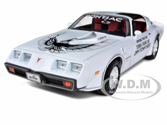 1981 PONTIAC FIREBIRD TRANS AM DAYTONA 500 PACE CAR 1/18 BY GREENLIGHT 12849
