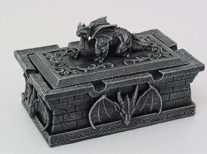 Cauldron-Jewelry-Trinket-Box-Gothic-Ancient-Dragon-Resting-on-Tomb-Stonelike