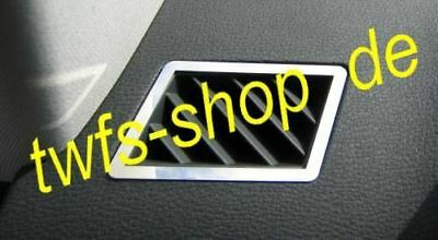 D BMW  X3  Chrom Rahmen für die Lüftungsgitter -  Edelstahl poliert