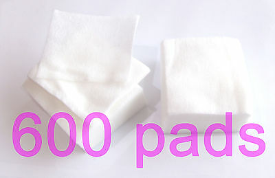 600 Lint Free Wipes Table Towels False nail Acrylic Gel nails Cellulose Pads