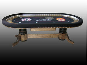 Image Is Loading High Stakes Custom Poker Table