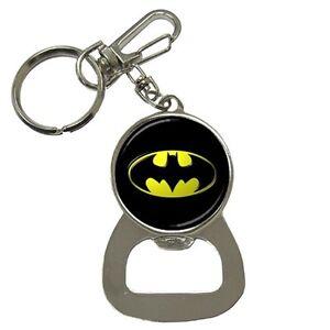 Batman-Logo-Key-Ring-Key-chain-Beer-Soda-Bottle-Cap-Opener-Best-New