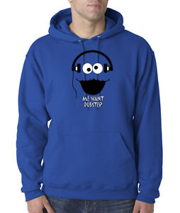 Cookie-Monster-Cartoon-Dubstep-Music-DJ-Face-50-50-Pullover-Hoodie