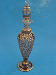 Vintage-Venetian-Crystal-Perfume-Bottle