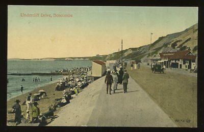Dorset BOSCOMBE Undercliff Drive early PPC