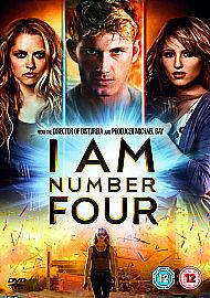 I Am Number Four (DVD, 2011)
