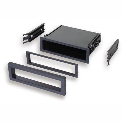 Radio Stereo Pocket Storage Cubby Din Installation Mounting Trim Dash Kit
