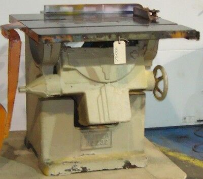 #SLS1F59 Table Saw Oliver Machinery 232-D  #7541DC