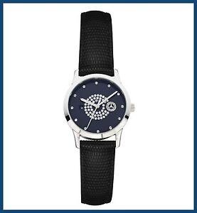 original mercedes benz armbanduhr uhr damen edelstahl. Black Bedroom Furniture Sets. Home Design Ideas