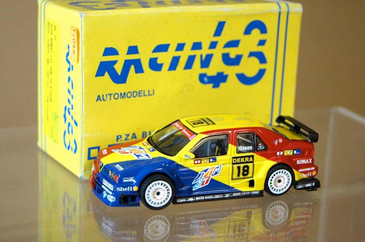 RACING 43 RACING 43 1994 ALFA ROMEO 155 GTA DTM DEKRA 18 NISSEN ar