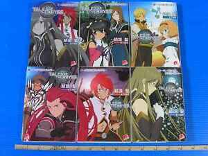 Tales-of-the-Abyss-light-novel-1-6-Complete-Set-w-PINUP