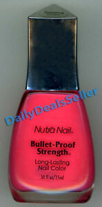 NUTRA-NAIL-Bullet-Proof-Strength-formula-Color-DAZZLING-DOWN-Nail-Polish-NEW