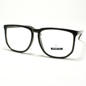 Retro Nerd Geek Com Armação Óculos De Grandes Dimensões Quadrado ... d989237ecc