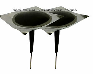tyre puncture repair wired 6mm plug patch mushroom car tractor van quad trike ebay. Black Bedroom Furniture Sets. Home Design Ideas