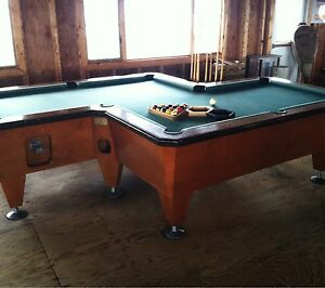 total fusion 10 pocket pool table ebay